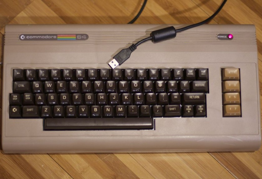 Commodore keyboard gets the usb treatment thanks to